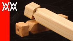 How to make a wooden train whistle