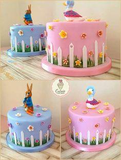Tarta Beatrix Potter ♥Cutsie Cupcakes♥…