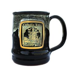 Death Wish Coffee Black Valhalla Java Ceramic Mug