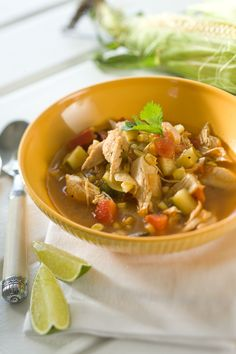 Orzo, Chicken soups and Squashes on Pinterest