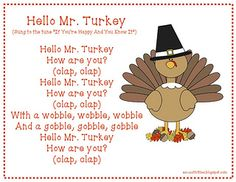 children's songs about thanksgiving