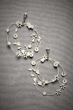 bhldn Daisy Chain Earrings $180