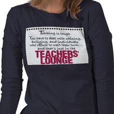 TEACHERS' LOUNGE---- Bahaha!!!