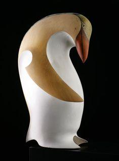 Hoiho • Yellow-Eyed Penguin by Rex Homan, Māori artist (KR80306)
