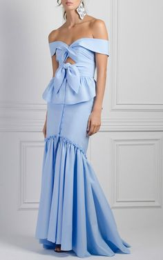 Starfish Off The Shoulder Blouse by JOHANNA ORTIZ for Preorder on Moda Operandi