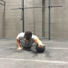 Michael Morelli medicine ball arms shoulders core