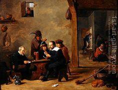 David Teniers el más joven - Los jugadores de cartas