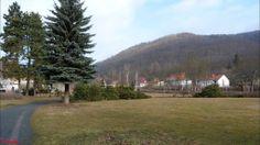 Ilfeld-Harz, Kurpark im Feb. 2012