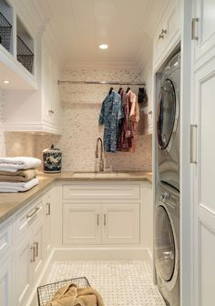 Small Laundry Room Small Laundry Room Design Small Laundry Room Ideas Small Laundry Room Stacked washer dryer #SmallLaundryRoom #Stackedwasherdryer