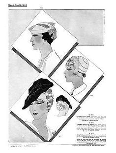 154 best hats 1930s dahling pour me a rye images in 2019 1930s 1930s Fashion 1934 fall eclair coupe paris pattern book reprint