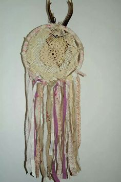 Handmade dreamcatcher done by me :)
