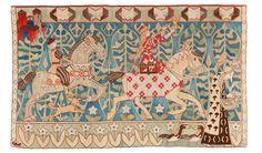 Gerhard Munthe TAPESTRY quotPrinsessen og gullfuglenequot Tapestry weave 141