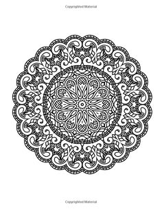 Zen Transcendental Mandala Coloring Book for Adults and Children Vol. 1 / Lilt Kids Coloring Books / Amazon