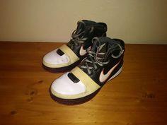 2008 Nike Zoom LEBRON VI 6 WHITE BLACK RED BRED 346526-101 Sz 12 #nike #BasketballShoes