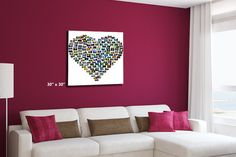Heart Montage Canvas