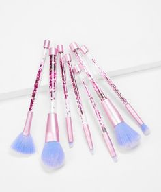 Makeup Brush Set, Makeup Kit, Makeup To Buy, Makeup Stuff, Brush Type, Makeup For Teens, Stunning Makeup, Real Techniques, Cute Makeup