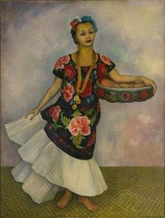 Diego Rivera, Retrato de Dolores Olmedo (Tehuana), 1955, Museo Dolores Olmedo, Xochimilco, México