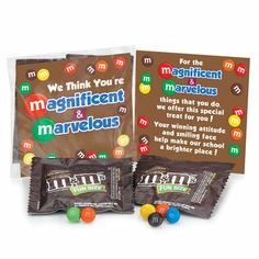 We Think You're Magnificent & Marvelous Snack Pack   Positive Promotions