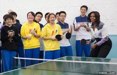 Michelle Obama defiende libertad de expresión