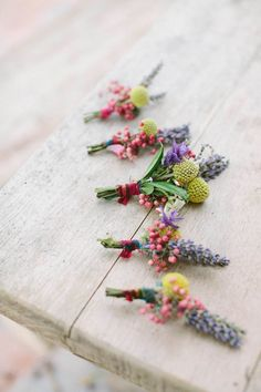 Buttonholes - Studio Ohlala | French Wedding