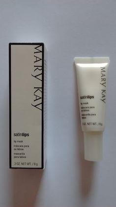 Maquiagem de óculos: Máscara para os lábios Satin Lips, Mary Kay