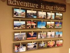 Adventure is out there! Postcard display