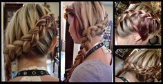 Cute braided look for everyday :)