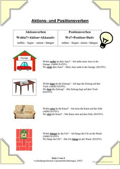 German Grammar Games Akkusativ | schule_deutsch | Pinterest ...