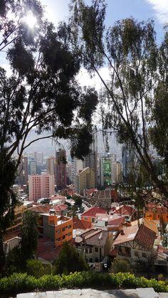 La Paz wurde in Bolivien aufgenommen
