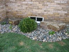 Rock Flower Bed Wonderful Living Room Modern With Rock Flower Bed ...