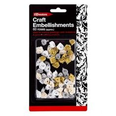 Craft Rose Accessories, 60 Pieces - Materials & Equipment - Arts & Crafts - Stationery & Crafts