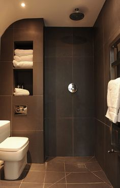 Love this wet room idea for my ensuite - it would mean my bathroom would need a shuffle round though.