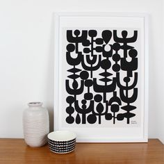 """Winter"" print by Eloise Renouf."