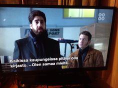 Tallentaa tv-sarjojen viisaita lauseita. Fargo