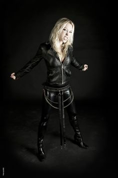 Angela Gossow of Arch Enemy