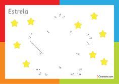 Segue os pontos da Estrela (1 a 20)