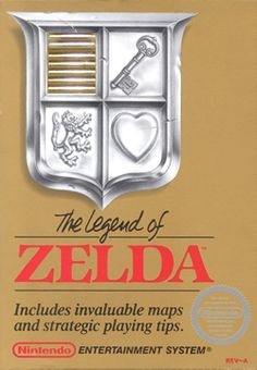 The Legend of Zelda. i think this is one of the first, if not THE first, Nintendo game we had.