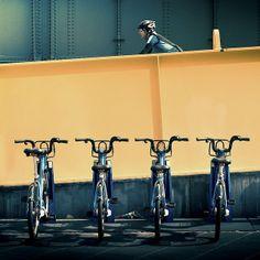 Australia / Melbourne / Bikes by ►CubaGallery, via Flickr