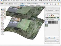 Customize terrain in Sketchup using 4 different methods. MORE TUTORIALS: http://www.sketchupschool.com/sketchup-tutorials