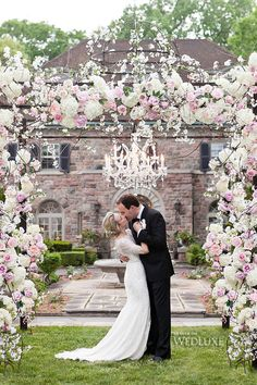 30 floral wedding arch decoration ideas pinterest ceremony arch daniel et daniel catering events wedding alter flowerswedding flower decorationswhite wedding archhanging junglespirit