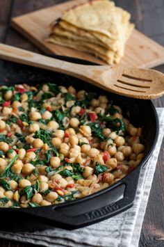 Skillet chickpea and roasted pepper dip - the perfect gluten-free ...