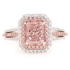 Specializing in natural fancy pink diamonds yellow diamonds and other colored diamonds, including fancy color diamond rings and jewelry at wholesale prices. Cartier Diamond Rings, Pink Diamond Ring, Champagne Diamond, Diamond Jewelry, Colored Diamonds, Yellow Diamonds, Diamond Are A Girls Best Friend, Beautiful Rings, Wedding Jewelry