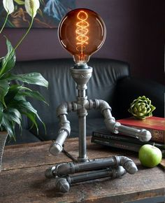 Pipe Lamps by CreativePipeLamps on Etsy