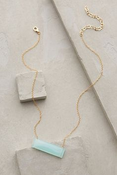 Anthropologie High Bar Necklace