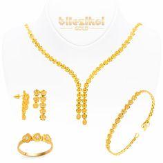 Sonsuzluk 22 Ayar Altın Set Takımı 43,35 Gr. 22 ayar taşlı altın setler - Bilezikci Gold - Türkiye'nin Lider Kuyumcusu