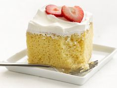 """Healthified"" Tres Leches Cake - tried and loved! Being a little less fattening than traditional is a plus. I usually am not a fan of cutting out anything from baking, especially whole milk and butter, but this passed the test."
