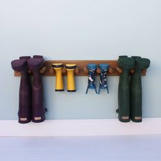 Are you interested in our Wellington boot storage rack? With our wooden welly rack you need look no further.