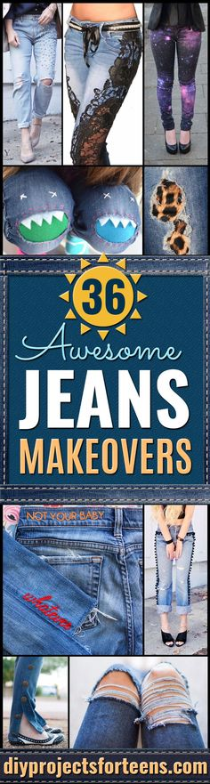 DIY Jeans Makeovers