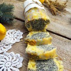 Poppy seed and lemon bread