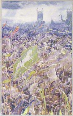 Pelennor Fields  ~Alan Lee